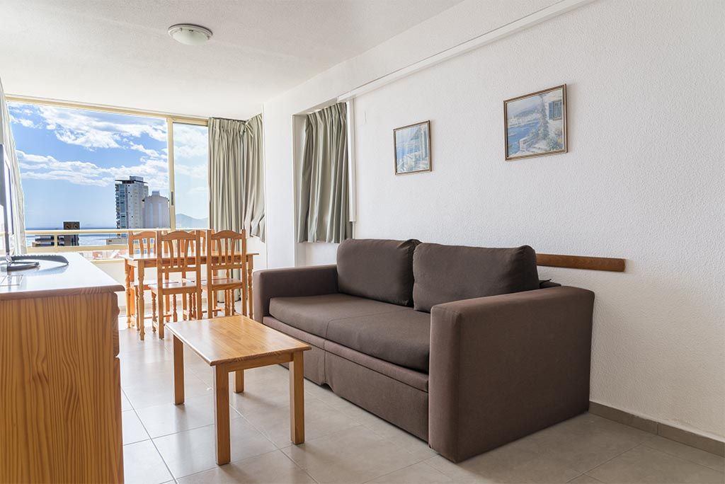 Apartments in Benidorm - Living room Mariscal 1